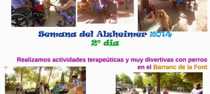 Terapia asistida con perros y Alzheimer!